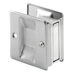 Prime-Line Satin-Nickel Pocket Door Pull Handle N 7238 at The Home Depot - Mobile