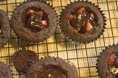 Brought these to work for a friend's bday today. Sooooo good! Definite do-over! Just used boxed choc. cake mix.
