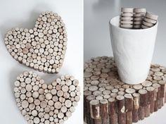 50 x okouzlující dekorace ze dřeva