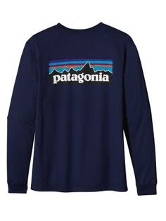 Patagonia Men's Long Sleeve P-6 Logo T-shirt