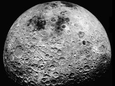 The Far Side of the Moon   Credit: Apollo 16 Crew, NASA