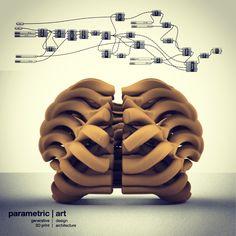 http://parametric-art.com/grasshopper-epiteszeknek/ #generative #3dprinted #jewelry by #parametricart designed with grasshopper3D