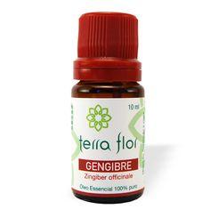 Óleo Essencial de Gengibre Seco - Terra Flor Aromaterapia www.terra-flor.com