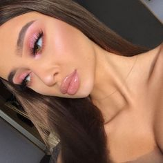 Best trend of Pink / Cherry Eyeshadow - Rainbow Make Up - . - Best trend of Pink / Cherry Eyeshadow – Rainbow Make Up – - Makeup Trends, Makeup Inspo, Makeup Inspiration, Makeup Ideas, Beauty Trends, Makeup Tips, Makeup Hacks, Eyeliner Hacks, Makeup Geek