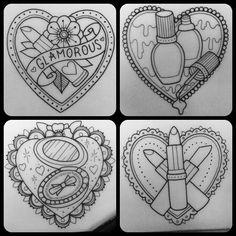 CeraVe Moisturizing Cream for Normal to Dry Skin Lipstick Tattoos, Makeup Tattoos, Girly Tattoos, Love Tattoos, Beautiful Tattoos, Body Art Tattoos, New Tattoos, Make Up Organizer, Dibujos Tattoo