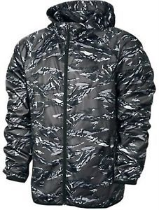 NIKE CAMOUFLAGE LIGHTWEIGHT WIND RUNNER MENS GYM RUNNING JACKET WAS $100