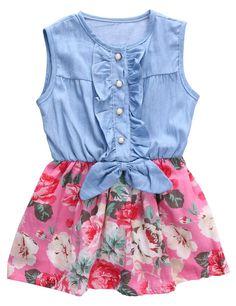 6574fadbe 8 Best toddler denim jumper images | Little girls, Toddler girls ...