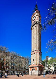 Clock Tower, Placa de la Vila de Gracia | Barcelona, Spain