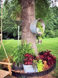 Looking for that unique take on an old item lying around the house? #repurpose #upcycle #creative #planting