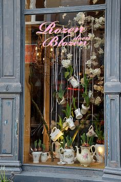 Rozen doen blozen in 2019 retail ❤: window displays витрина Store Window Displays, Spring Window Display, Retail Displays, Florist Window Display, Vitrine Design, Decoration Vitrine, Deco Floral, Store Windows, Shop Fronts