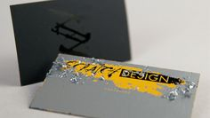 Carte Visite Jeux A Gratter Originale Exemple De Design