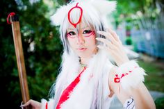 Amaterasu Gijinka - Okami cosplay by Lawliet Cool Costumes, Cosplay Costumes, Cosplay Ideas, Best Cosplay, Awesome Cosplay, Anime Cosplay, Anime Conventions, Manga Books, Tokyo Otaku Mode