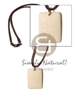South East Asia White Bone Dog Tag With Flower Surfer Necklace sustainable surfers fashion jewelry. Jewelry Shop, Handmade Jewelry, Fashion Accessories, Fashion Jewelry, Wood Necklace, Shell Necklaces, Wholesale Jewelry, Stone Jewelry, Bones
