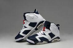 80b01a58 Nike Air Jordan AJ6 Retro Shoes Jordan 6 Basketball Shoes Men And Women  Shoes White Cyanine
