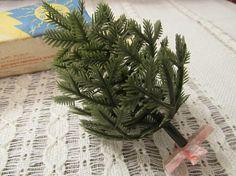 Christmas tree small plastic green christmas tree Soviet