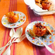 Pecans Baked Apples