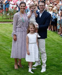 Crown Princess Victoria's 41st Birthday Celebrations at Solliden