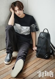 Minseok EXO x MCM for The Celebrity