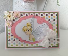 Disney Cards, Create And Craft, Card Tags, Lace Design, Tinkerbell, Frame, Crafts, Ideas, Cards