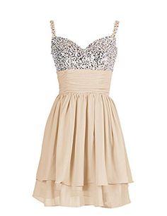 Dresstells Short Spaghetti Straps Chiffon Dress Sequins Bridesmaid Dress Prom Dress Homecoming Dress Champagne Size 6 Dresstells http://www.amazon.co.uk/dp/B00N2NRQ18/ref=cm_sw_r_pi_dp_JsPkwb1SS2WJ2