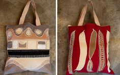 Cushion Bags: a Tribal Textiles Product Andy Goldworthy, Hand Painted Fabric, Fabric Painting, Reusable Tote Bags, Cushions, Textiles, Prints, Scotland, Shopping