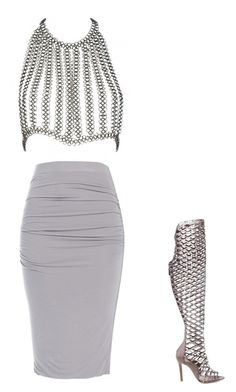 """""""Untitled #11102"""" by danisalalkamis ❤ liked on Polyvore featuring Fannie Schiavoni and Schutz"""