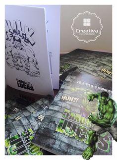 Libritos para colorear Tapa full color | Interior blanco y negro  #PartyKids #LibritosParaColorear #CreativaImprentaDigital