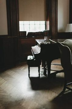 no matter where i live, a piano must always be in my home