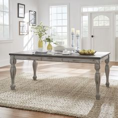 Nathalie Extendable Dining Table Weston Home Antique Kitchen