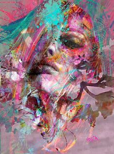 Buy nothing but delusion, a Acrylic on Canvas by yossi kotler from Israel. It portrays: Abstract, relevant to: portrait, digital art, yossi kotler art, acrylic painting, face When I am walking around outside in the nature, by investigating my path and my creativity, there is suddenly a spark that catches my eyes, that I can reflect to its shapes, texture, and to its colors. And this starts a creative process in me. Then I will search for a female figure with a unique look with some of…
