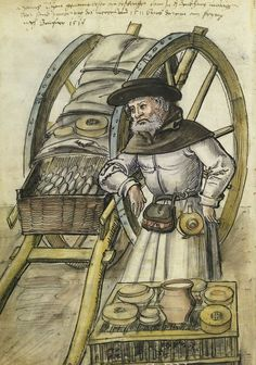 It's About Time: Illuminated Manuscripts & a brief history of cheese...