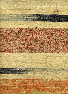Saki-ori obi, Woven rag textile; Japan; 20th century by Knoxville Museum of Art, via Flickr