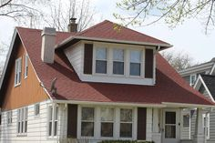 BCI Exteriors fixes another contractor's sloppy mistake. Roof repair on a leaky roof. Asphalt Roof, Asphalt Shingles, Bungalow Extensions, Whitefish Bay, Red Roof, Roofing Contractors, Roof Repair, Cottage, Exterior