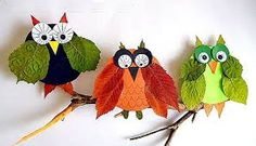 Beautiful Leaf Crafts - Red Ted Art - - Gorgeous Leaf Crafts for Autumn and Thanksgiving. Check out these stunning leaf crafts and incorporate them in your Thanksgiving and Fall activities! Leaf Crafts, Owl Crafts, Fun Crafts For Kids, Diy For Kids, Autumn Leaves Craft, Autumn Crafts, Nature Crafts, Leaf Animals, Leaf Art