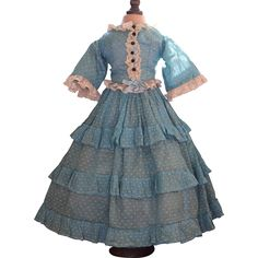 Lovely French Fashion Dress from fancyandfine on Ruby Lane