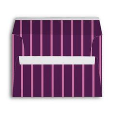 Purple and Pink Stripes Envelopes