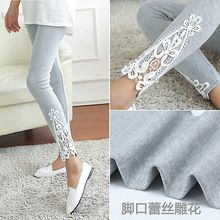 New Fashion Womens Lace häkeln sexy dünne Leggings Stretch Jeggings Hosen . Fall Leggings, Cotton Leggings, Leggings Are Not Pants, Cheap Leggings, Floral Leggings, Cotton Pants, Tight Leggings, Denim Leggings, Jeggings