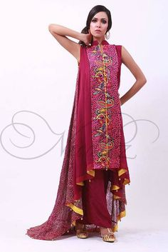Needlez by Shalimar Bridal Wear Dresses Collection 2014  (2)