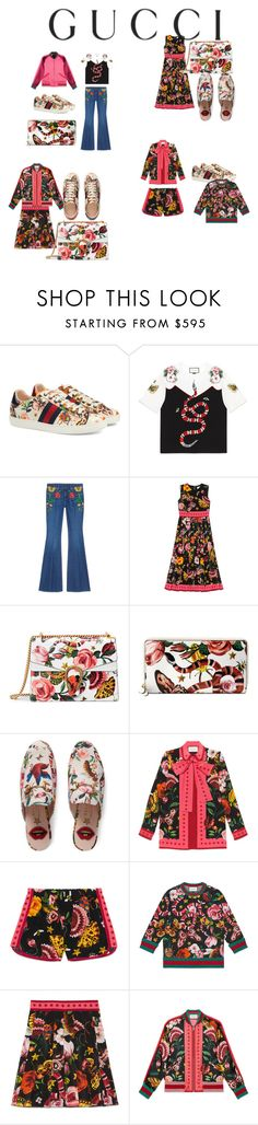 """Presenting the Gucci Garden Exclusive Collection: Contest Entry"" by adessatamo12 ❤ liked on Polyvore featuring Gucci and gucci"