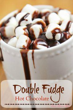 Double Fudge Hot Chocolate