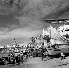 Algarve, Albufeira. Décadas de 50/60.