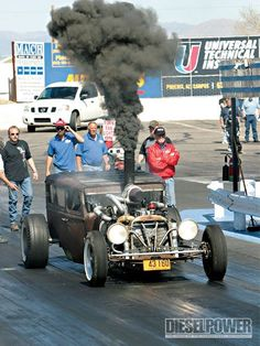 Diesel  Rat Rod...rollen' coal!
