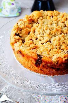 gâteau crumble poires chocolat Plus