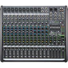 Mackie - ProFXv2 Series 16-Channel DJ Mixer, SRSPROFX16V2