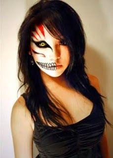 Maquillaje fácil y bonito para halloween   Belleza
