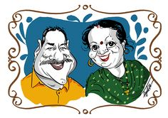 Cartoons and caricatures on Behance