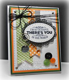 Jessie Knight Rone: Can You Say…Addicted to Stamps? –  Wonderful Wednesday-Grateful for YOU!! - 2/25/15  (MFT: Stitched Oval STAX, Oval Decorative Doily Duo.  Kraftin' Kimme: Hello Friend stamps)  (Pin#1: Sentiment Focus.  Pin+: Banners...)