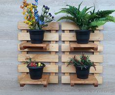 House Plants Decor, Plant Decor, Woodworking Projects Diy, Diy Projects, Clay Fairy House, Clay Fairies, Flower Holder, Interior Garden, Made Of Wood