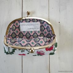 Japanese hand crochetted clutch