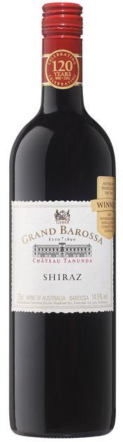 Barossa Valley Shiraz. South Australia Shiraz. Wine from Australia.